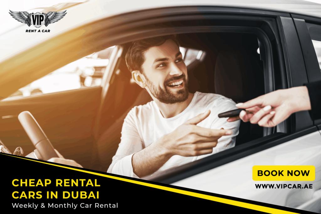Monthly car rental in dubai