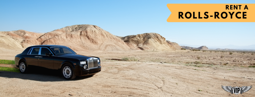 VIP Rent a Car - Rent a Rolls-Royce Banner for RR Article